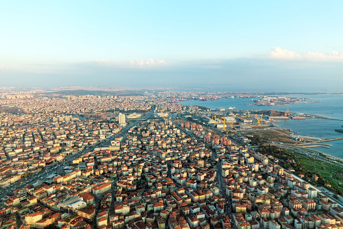 Istambul-from-airplane